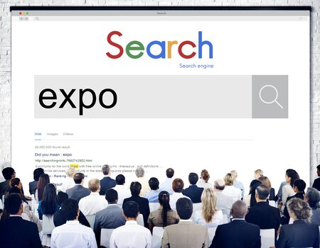 Expo Showcase Event-Messe Industrie Display-Konzept