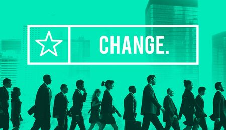 revolution: Change Opportunity Revolution Improvement Development Concept Stock Photo