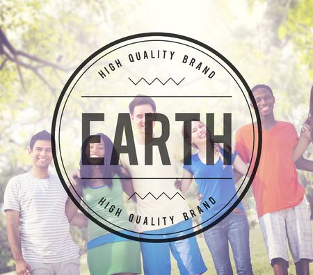 environment protection: Earth Environment Ecology Nature Planet Concept Stock Photo