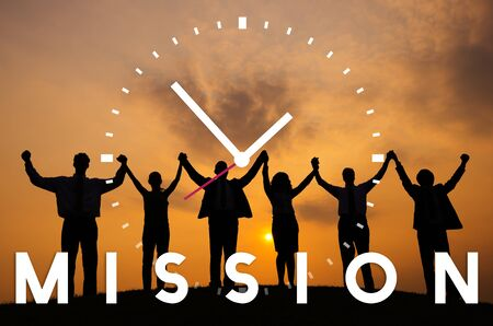 Mission Motivation Goals Target Aspiration Concept 스톡 콘텐츠