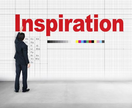 Inspire Inspiring Inspiration Motivate Innovate Concept Stock Photo