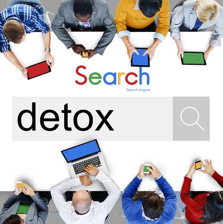detoxification: Detox Detoxification Detoxify Health Healthy Toxic Concept Stock Photo