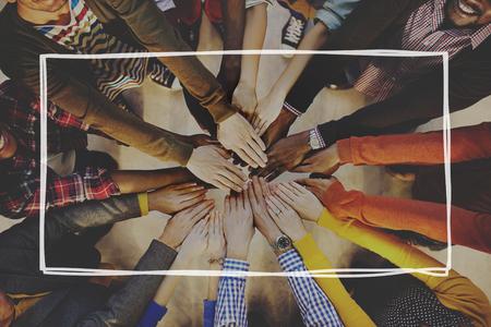 Teamwork concept Banque d'images