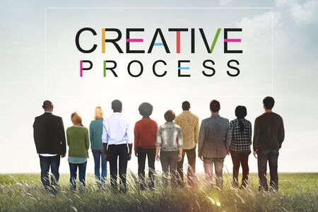 Creative Process Creativity Design Ideas Innovation Concept Stock Photo