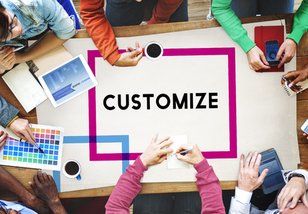 modificar: Modificar en Personalizar Ideas de Ajuste creatividad Concepto de personalizaci�n