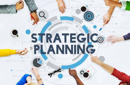 plan de accion: Concepto Acci�n Plan de Proceso de Planificaci�n Estrat�gica Foto de archivo