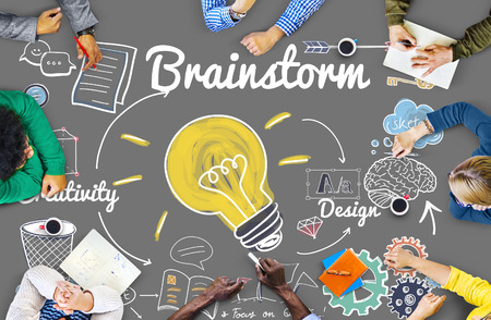 brainstorm: Brainstorming Analysis Planning Sharing Meeting Concept