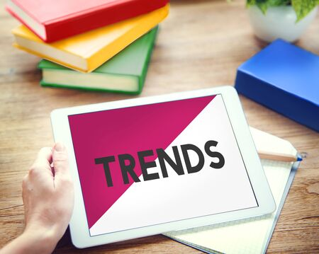 technology trends: Digital Device Technology Trends New Concept Stock Photo