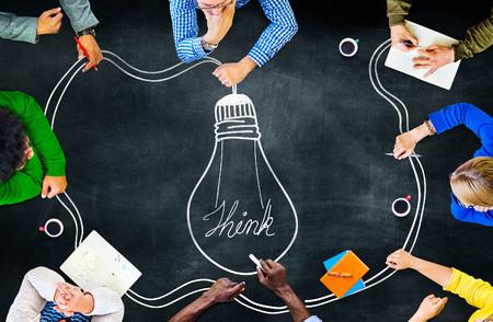 Pomysł Kreatywność Inspiration Myśli planowania pojęcia