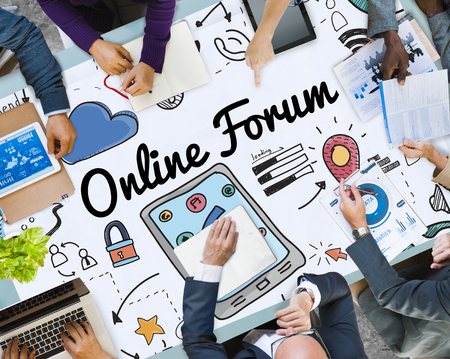 Business planning with Online forum concept