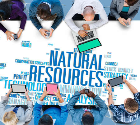 recursos naturales: Natural Resources Conservation Environmental Ecology Concept