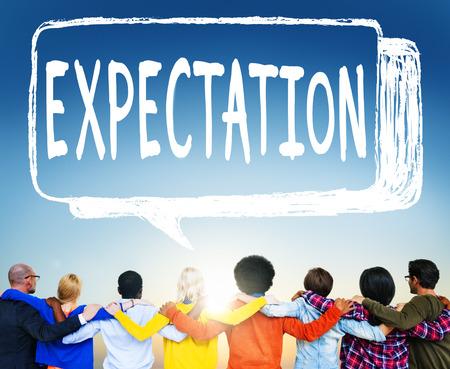 Expectation concept 版權商用圖片 - 109409865