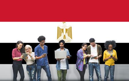 bandera egipto: Bandera de Egipto Pa�s Nacionalidad Libertad Concepto