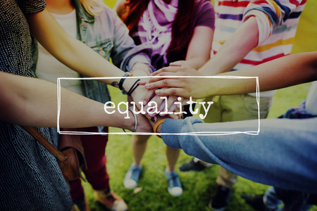 parity: Equality Fairness Equal Justice Rights Concept