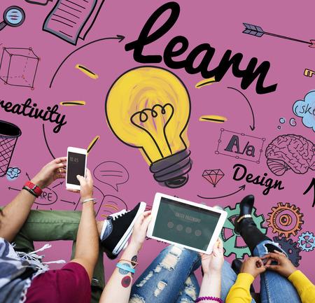 Leer Leren Onderwijs Kennis Wijsheid bestuderen Concept