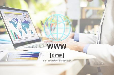 WWW Website Internet Network Connection Social Concept