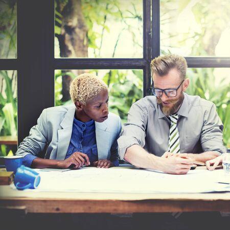 strategic focus: Team Teamwork Business Collaboration Meeting Concept