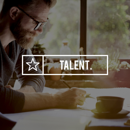 professional occupation: Talent Skills Professional Expertise Occupation Concept