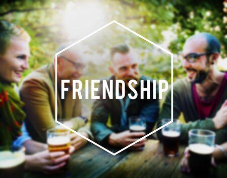 companionship: Amigos Amistad Compa�erismo Compa�erismo Uni�n Concept