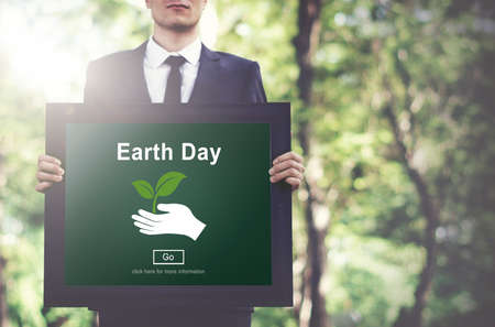 conservation: Earth Day Environmental Conservation Website Online Concept