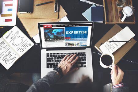 excellent: Expertise Expert Excellent Excellence Brilliant Ability Concept