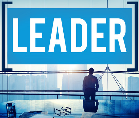 authoritarian: Leader Leadership Lead Manager Management Concept