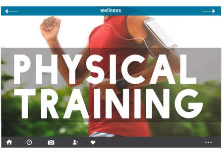 Physical Training Coach Body Gym Health Sport Concept