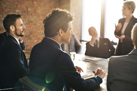 Business Team Meeting mózgów koncepcja uczcić Zdjęcie Seryjne