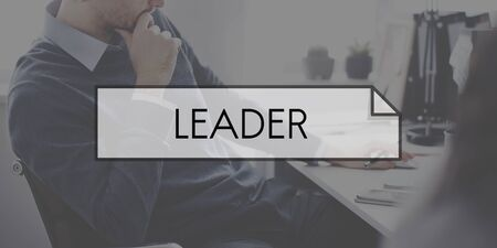 autoridad: Leader Leadership Authority Management Boss Concept Foto de archivo