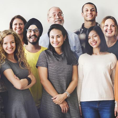 Diversiteit Mensen Group Team Unie Concept Stockfoto