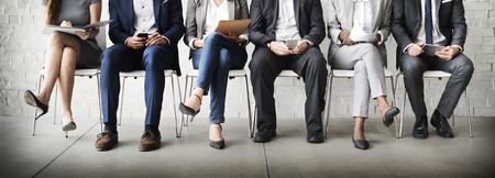 Zasoby ludzkie Wywiad rekrutacji Concept