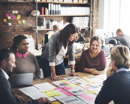 Coooperation 기업 Archievement 팀워크 개념 스톡 콘텐츠