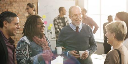 gente adulta: Business Team Meeting Working Talking Concept