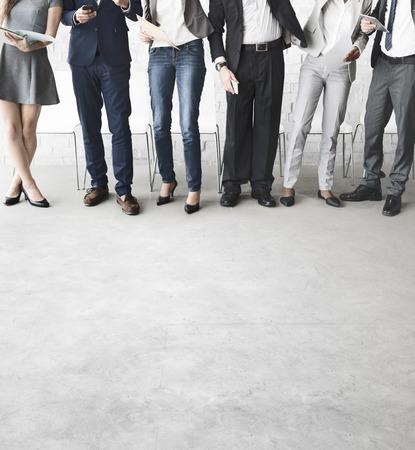 Unión concepto de negocio Gente de la reunión, Conexión,