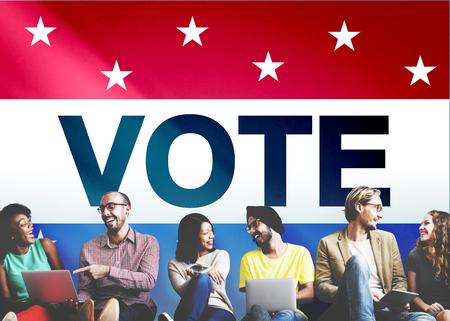 politic: Vote Voting Election Politic Decision Democracy Concept