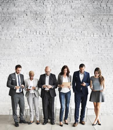 Human Resources Interview Recruitment Job-Konzept Standard-Bild - 53725726