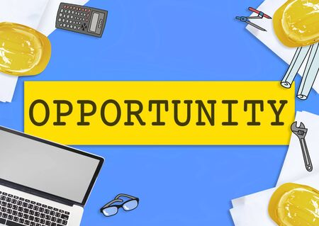 opportunity: Opportunity Chance Development Motivation Skill Concept