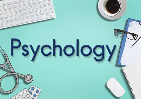 the psyche: Psychology Mental Health Medicine Therapy Concept