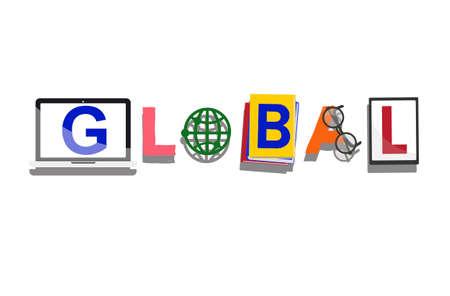 Global International Worldwide Universal Concept