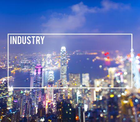 cocnept: Industry Economic Cityscape Metropolitan Production Cocnept