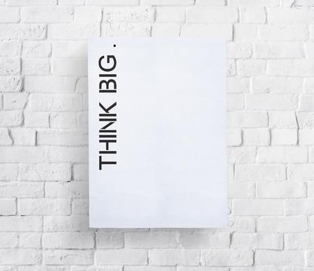 visionary: Think Big Creative Imagination Strategy Visionary Concept