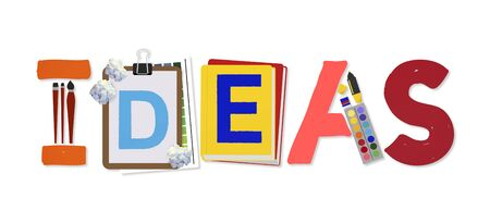 suggestion: Ideas Creative Art Design Word Concept