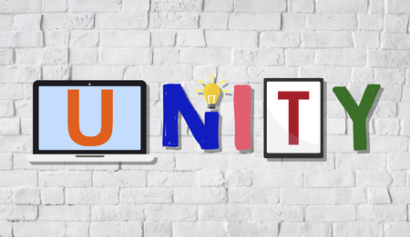 Unity Togetherness Team Union Support Concept Stock Photo
