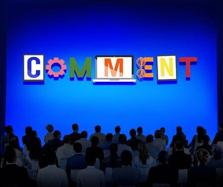 utterance: Comment Social Media Social Networking Observation Concept
