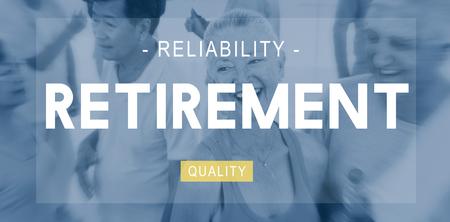 worth: Retirement Plam Wealth Worth Security Management Concept