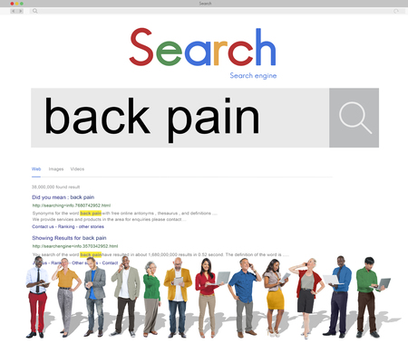 spinal cord: Back Pain Arthrosis Ache Osteopathy Spinal Cord Concept