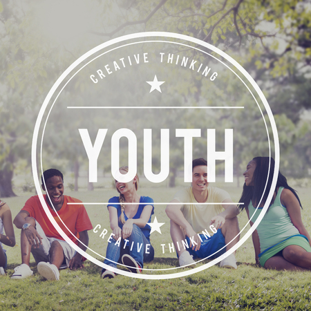 boyhood: Youth Culture Young Adult Generation Lifestyle Concept Stock Photo