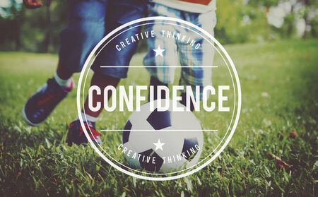 trustworthiness: Confidence Belief Reliability Conviction Concept Stock Photo