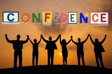 reliance: Confidence Conviction Belief Faith Reliability Trust Concept