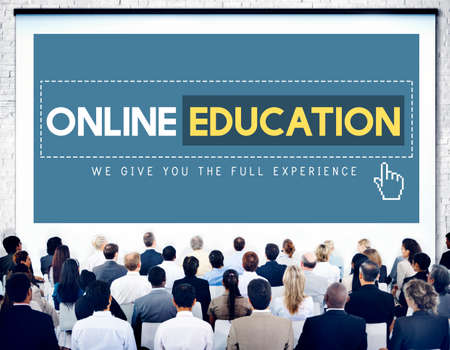 executive courses: Online Education Studying E-Learning Technology Concept